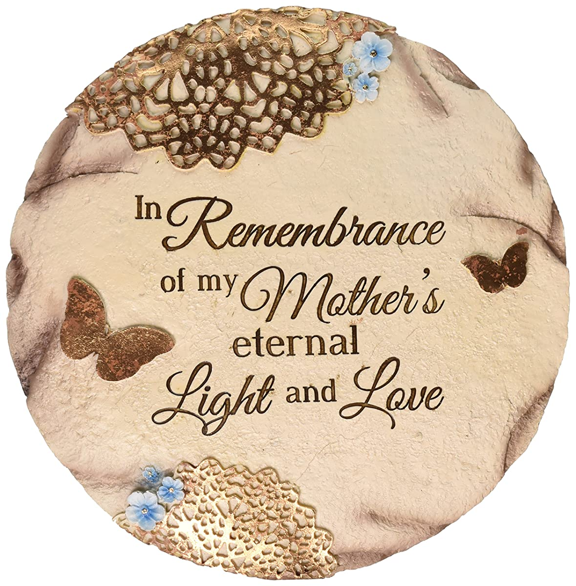"""Pavilion Gift Company 19069 """"Remembering Mother"""" Memorial Garden Stone, 10-Inch"""
