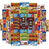 Ultimate Healthy Office Bars (60 count), Snacks & Nuts Bulk Variety Pack - Travel Snack Box - Military Care Package, Variety Gift Pack for Office, Military, Travel, Students, Final Exams, Outdoor, (Color: 60 Count Snack Bars)