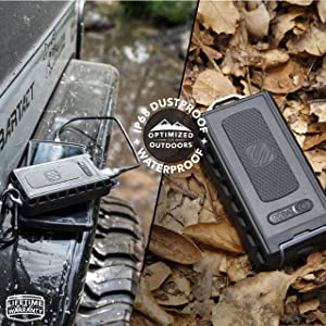 SCOSCHE RPB6RT GoBat Realtree Rugged 12W USB 6000 mAh Portable Battery Pack (Color: Real Tree, Tamaño: 6000 mAh)