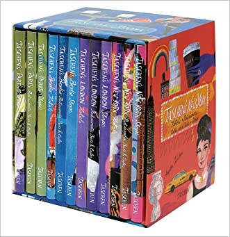 TASCHEN 4 Cities: 12 Vol. in Box