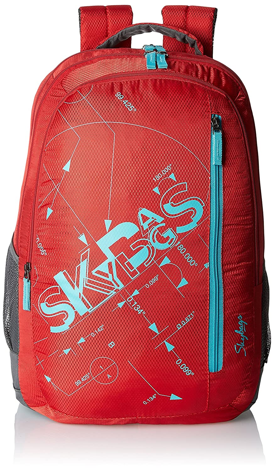 Skybags Pixel 30 Ltrs Red Casual Backpack (PIXPLS03RED)