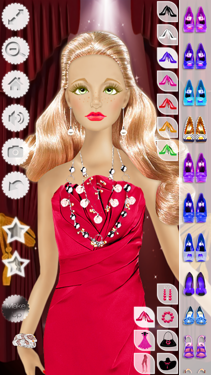 Barbie Doll Makeup, Hairstyle & Dress Up Fashion Top Model