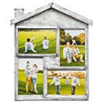 Collage Picture Frame – High Quality Gift – 4x6 Photo Collage Solid Wood - for Family Love and Best Friends