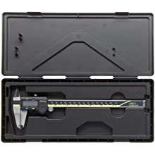 "Mitutoyo ABSOLUTE 500-164-20 Digital Caliper, Stainless Steel, Battery Powered, Inch/Metric, 0-8"" Range, +/-0.001"" Accuracy, 0.0005"" Resolution"