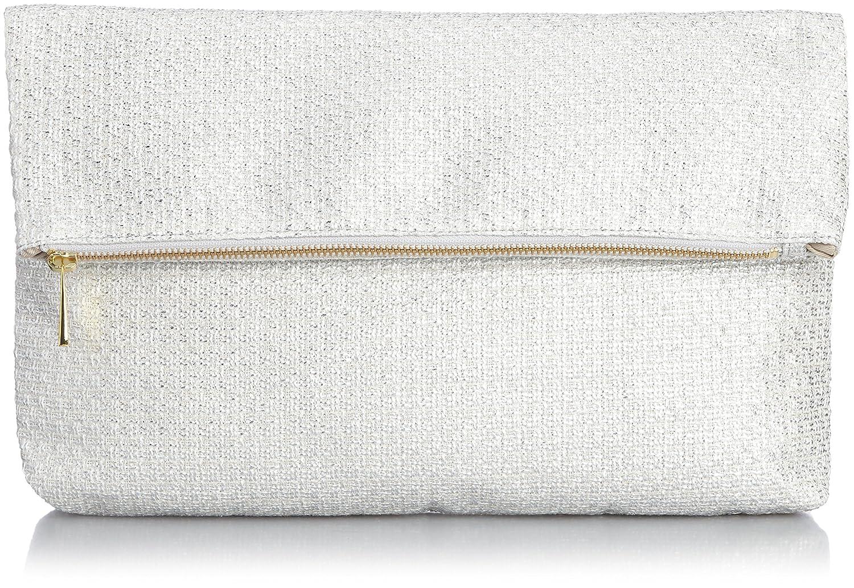 Amazon.co.jp: [オデットエオディールユナイテッドアローズ] Odette e odile UNITED ARROWS Cache&O プレーンクラッチ 45324991706 07 (Silver/フリー): シューズ&バッグ:通販