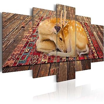 impression sur toile 200x100 200x100 cm grand format 5 parties image sur toile. Black Bedroom Furniture Sets. Home Design Ideas