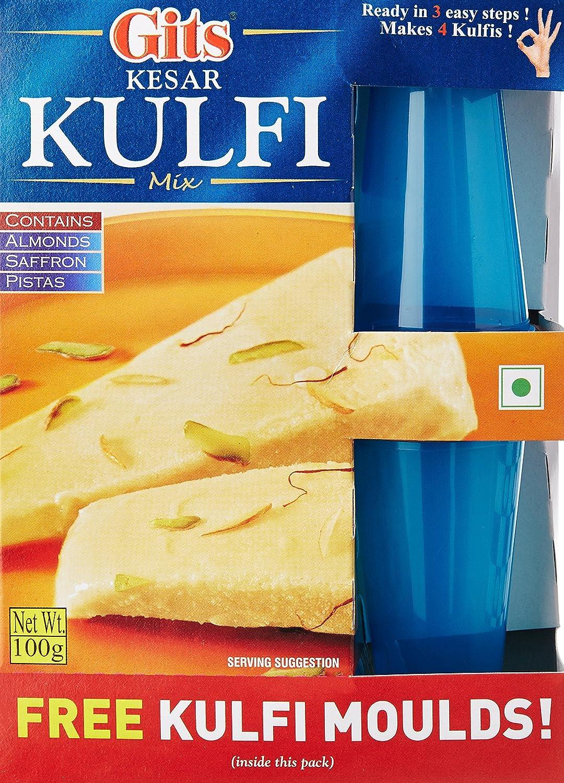 Free Kulfi Moulds with Gits Instant Kesar Kulfi Dessert Mix