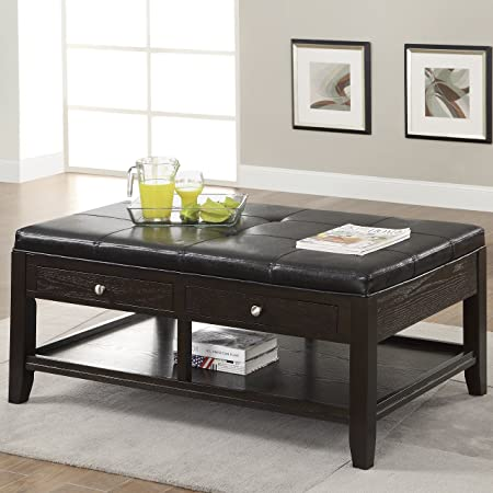 Coaster Home Furnishings 702507 Casual Coffee Table, Oak