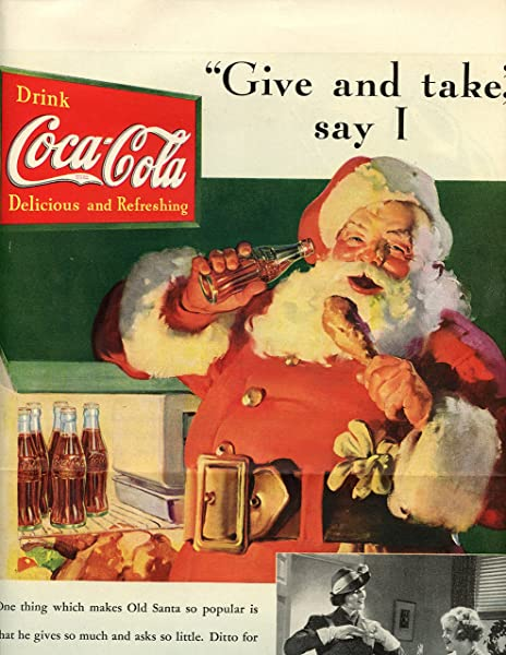 Santa Claus Coca-Cola advertisement