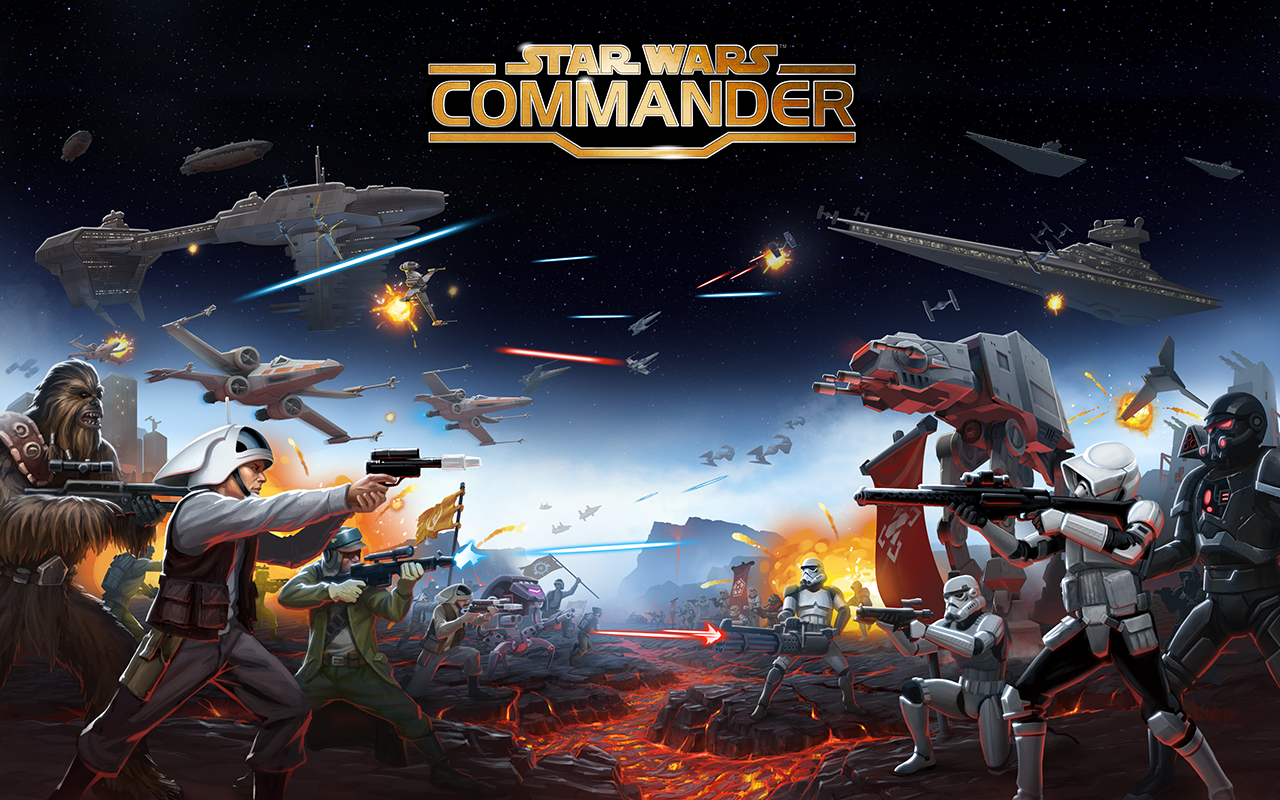 star warstm commander squad wars appstore. Black Bedroom Furniture Sets. Home Design Ideas