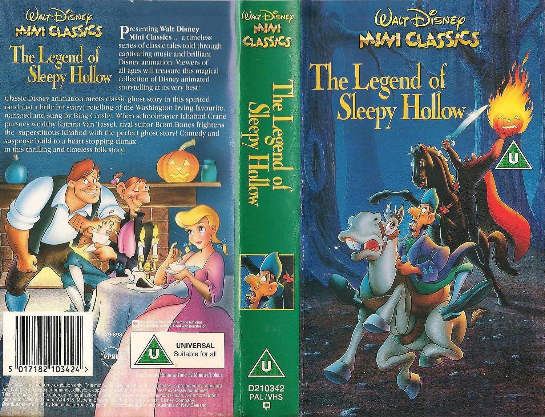 animation movie the legend of sleepy hollow 1949