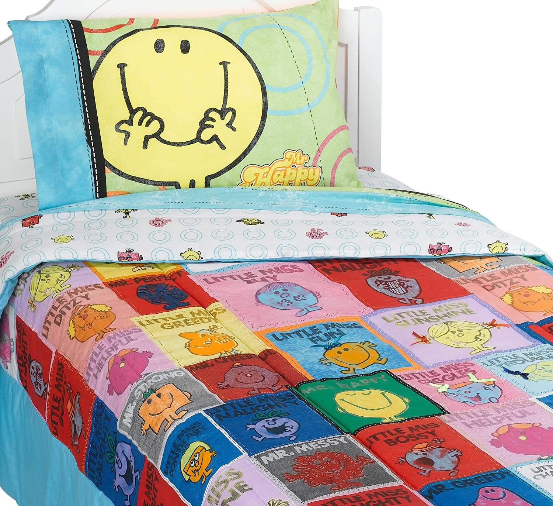 Superb Mr Men and Little Miss Twin Comforter