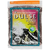 Dulse Flakes - Certified Organic- Sea Vegetables, washed, Pure Vegan- Maine COhsawast 4oz. (Tamaño: 4 oz)