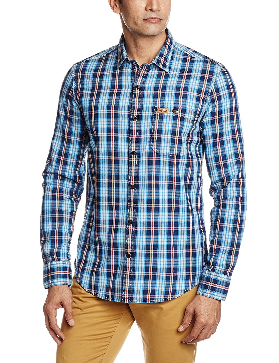 Upto 30-50% off On U.S. Polo Assn Men's Clothing By Amazon | U.S.Polo.Assn. Men's Casual Shirt @ Rs.1,149
