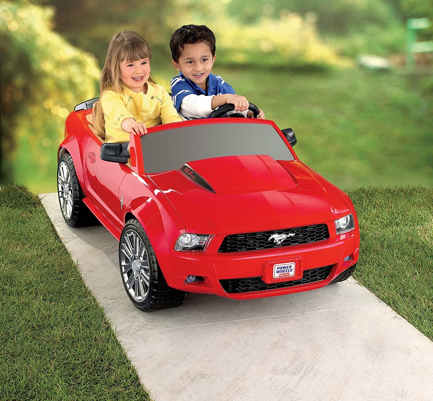 Ford Toys For Boys : Fisher price ford mustang power wheels kids motor toy car