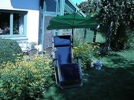Tiempo libre Juego de-Lafuma-RSX-Sillón relax-Stabielo-Color Azul-Outdoor Mendler-Regulable Y Plegable-Carga aprox. 120Kilo Soporta-St