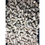 Crafting Wine Corks Brand New, All Natural & Same Size With Printed Marked, Craft Grade Meant for Arts, Crafts, Decor. No Agglomerated or Synthetic. Not For Bottling. (100)