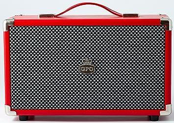 GPO Westwood Enceinte Bluetooth 25 W Rouge