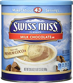 Swiss Miss Hot Cocoa Mix Milk Chocolate (28.5 Ounce Canister)