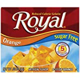 Royal Lime Gelatin Dessert Mix, Sugar Free and Carb Free (12 - .32oz Boxes) (Tamaño: Pack of 12)