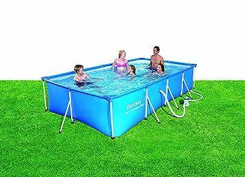 bestway 56082 frame pool steel pro set mit filterpumpe 400 x 211 x 81cm us276. Black Bedroom Furniture Sets. Home Design Ideas