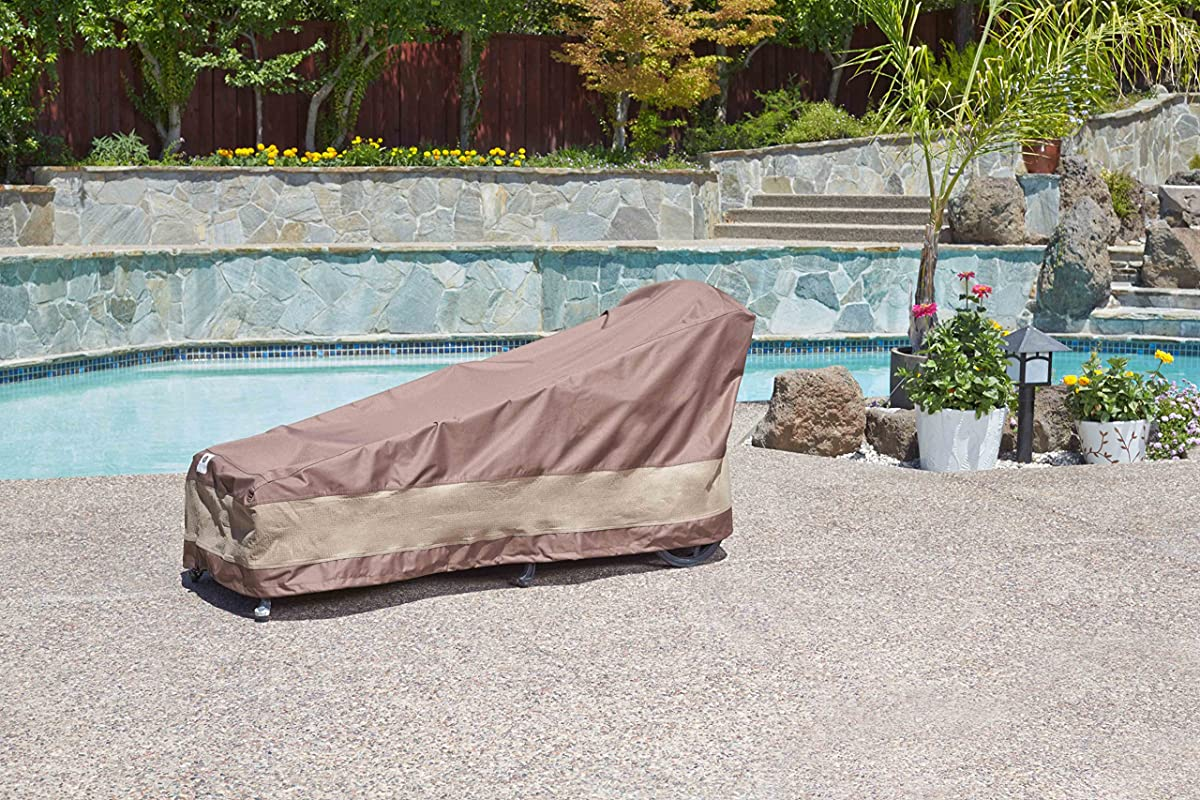 Duck Covers Ultimate Patio Chaise Lounge Cover, 80-Inch