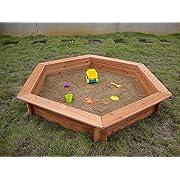 5 x 4 Hexigonal Sandbox - Rain Cover Included