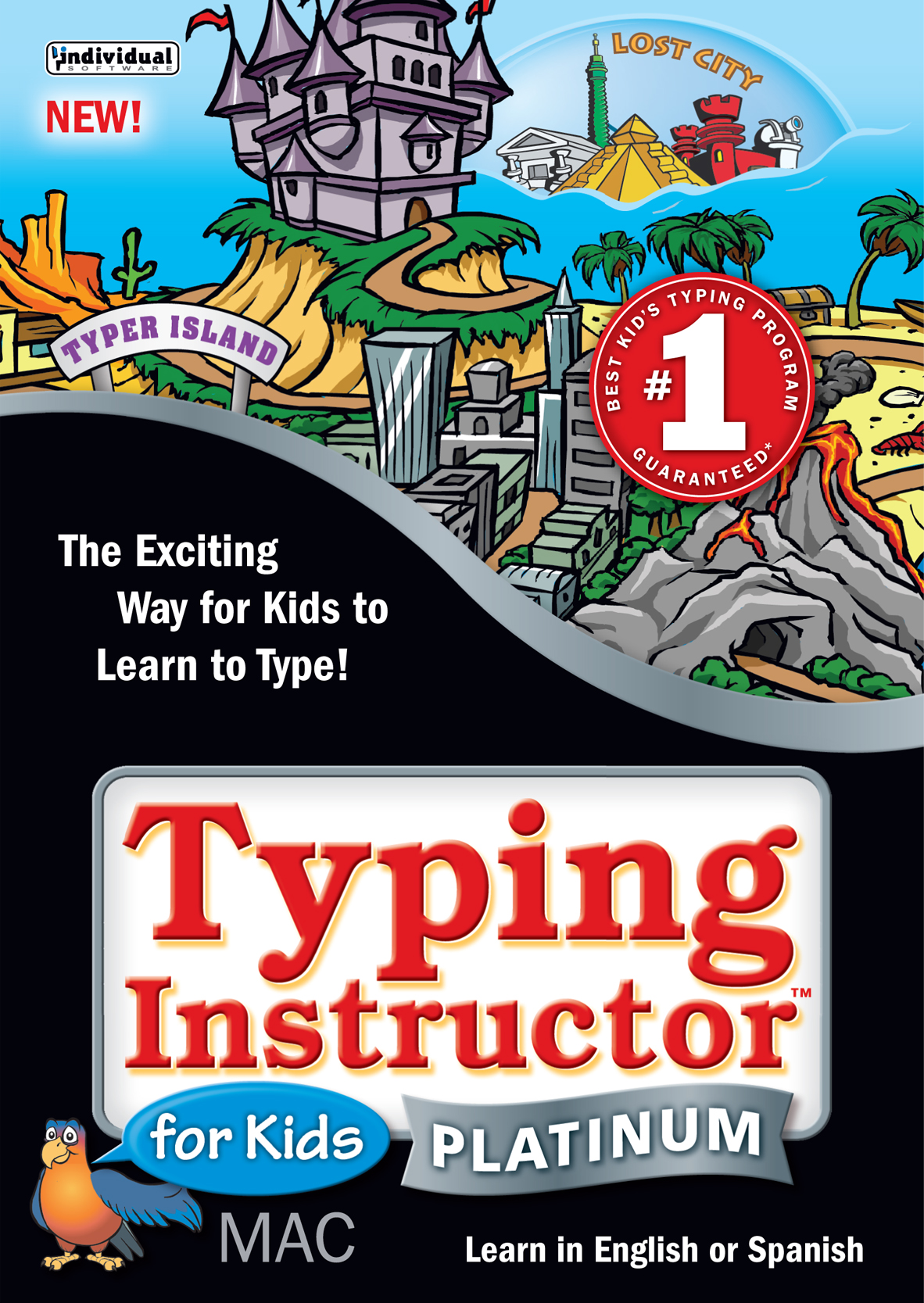 Typing Instructor Platinum for Kids 6 - Mac [Download] (Typing Instructor Mac compare prices)