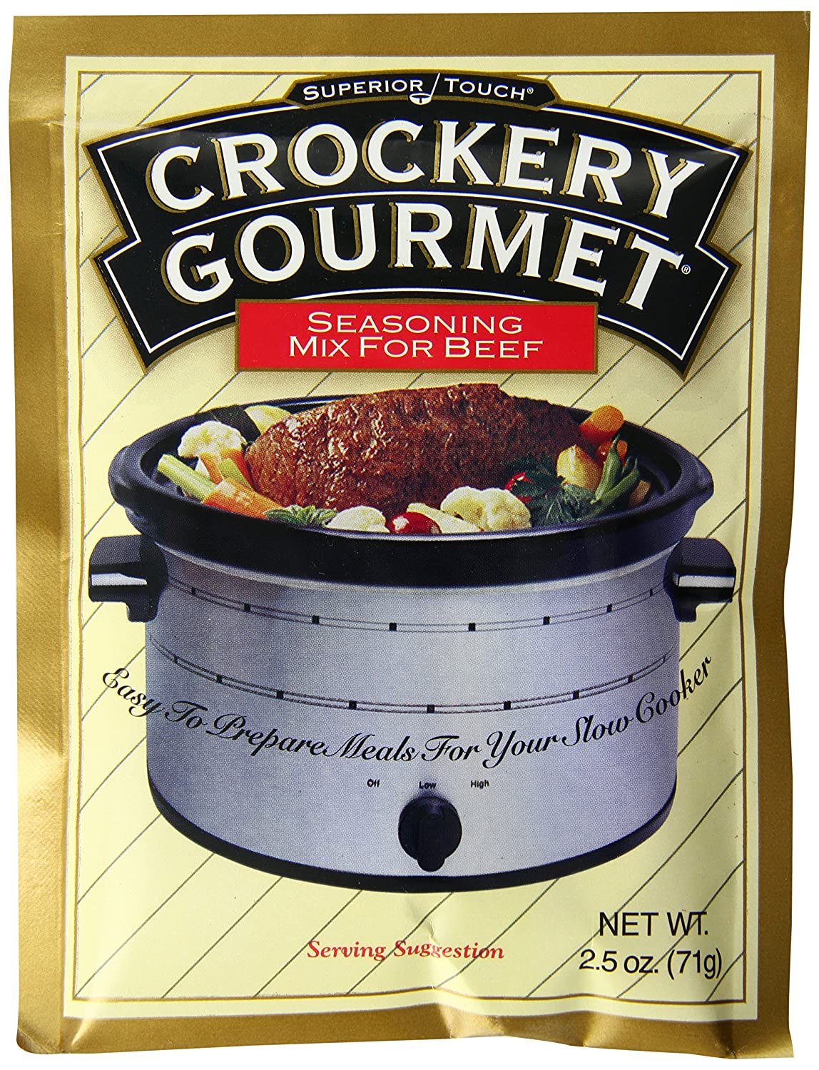 Instant Gourmet Seasoning Crockery Gourmet Seasoning Mix
