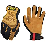 Mechanix Wear - Leather FastFit Gloves (Small, Brown/Black) (Color: Tan, Tamaño: Small)