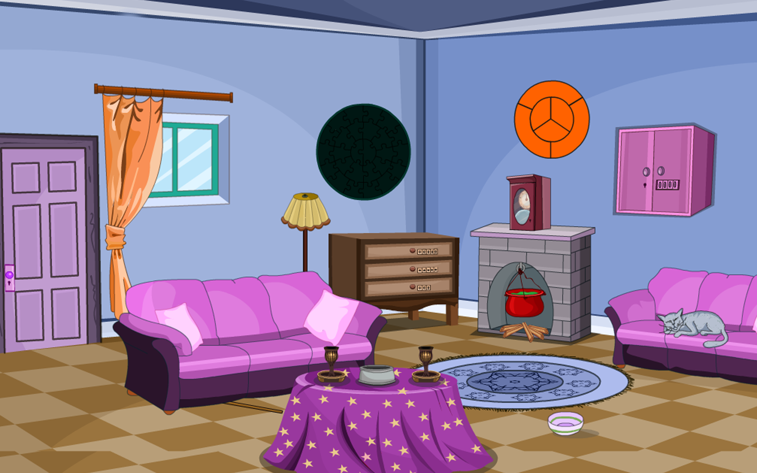 Escape game trickster drawing room appstore for Drawing room pictures