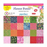 Paperhues Flower Power Scrapbook Papers 12x12