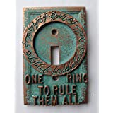 Lord of The Rings -Light Switch Cover - (Copper/Patina) (Color: Copper/Patina)