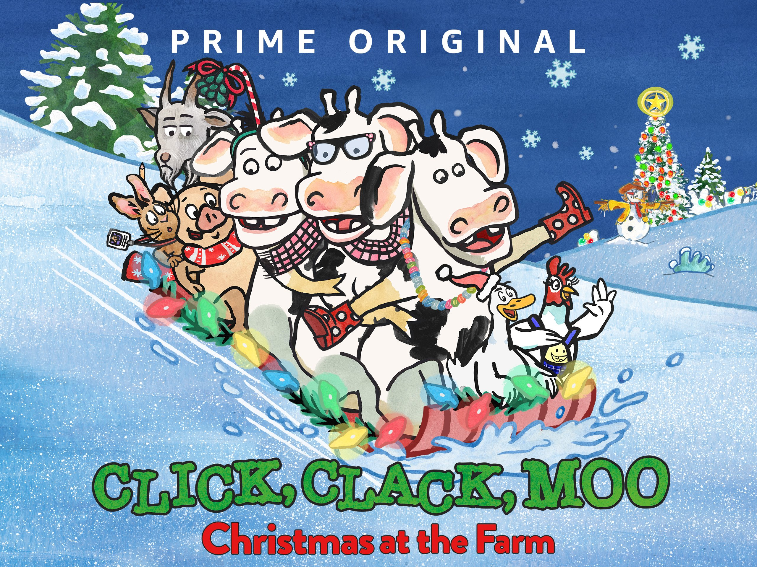 Click, Clack, Moo: Christmas at the Farm - Season 101