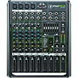 Mackie PROFX8V2 8-Channel Compact Mixer with USB and Effects (Color: Black, Tamaño: 8 Channel)