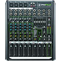 Mackie ProFX8v2 8-Channel Professional FX Mixer with USB (Black)
