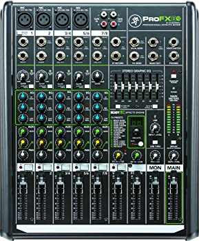 Mackie ProFX8v2 8-Ch Professional FX Mixer
