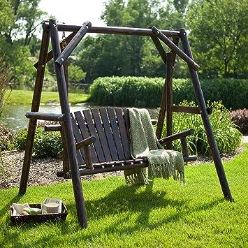 rustic swing seat 1
