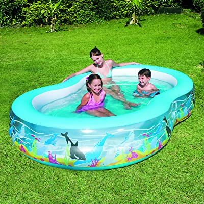 Bestway Sea Scene Lagoon Family Paddling Pool (108
