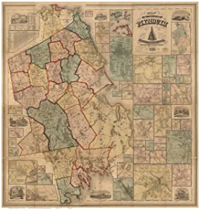 Plymouth County Massachusetts 1857