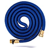 Kevri Expandable Garden Hose (50 Feet) Tangle and Kink Free Coil | Lawn and Gardening for Plants, Flowers, Vegetables | Heavy-Duty, Multipurpose Home Use