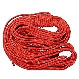 Wildken 10.5mm Static Climbing Rope 40m/131ft (Color: Orange, Tamaño: 40m/131ft)