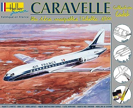 Heller Junior - 49074 - Maquette - Aerospatiale Caravelle