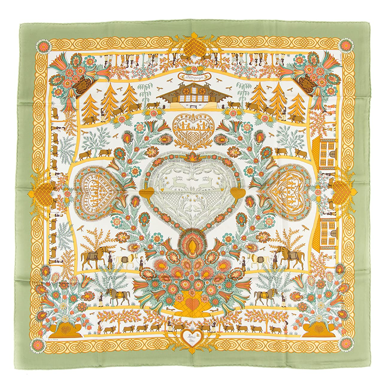 Hermes Vintage Scarf - Decoupages 0