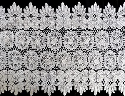 Scalloped Lace Trim by The Yard Sided Scalloped Lace Trim