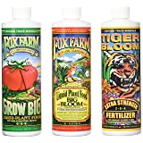 Fox Farm Liquid Nutrient Trio Soil Formula  - Big Bloom, Grow Big, Tiger Bloom Pint Size (Pack of 3) (Tamaño: 16 oz)