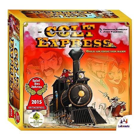 Colt Express - Jeu de Société - Version Allemande