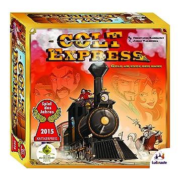 Ludonaute 217632 - Colt Express, Brettspiel, Spiel des Jahres 2015