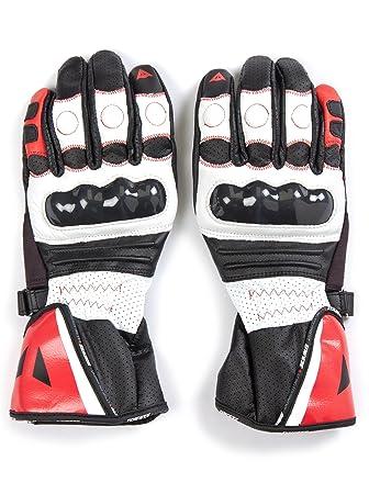 Dainese Redgate Gants de moto professionnels Blanc/noir/rouge Taille XXL (12)