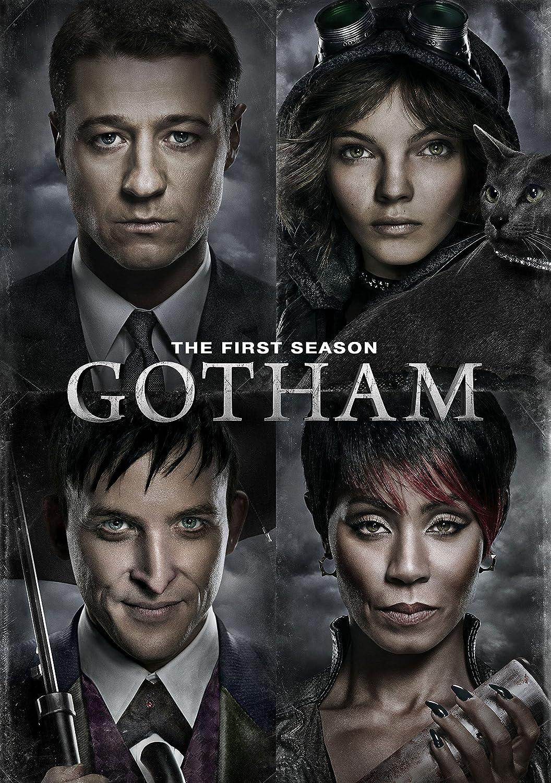 Gotham Season 1 Cover Gotham Season 1 Dvd